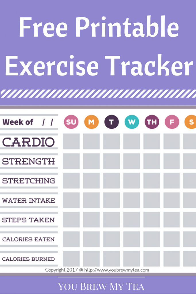 free printable exercise tracker diets and juicing recipes