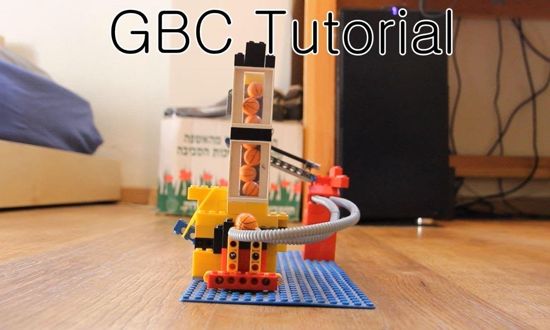 Lego Gbc Marble Pump V3 No Motor Needed Tutorial Lego Tutorial Marble Machine
