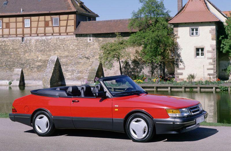 Saab 900 Cabrio Voiture, Belle voiture, Saab