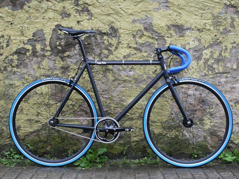 Black & Blue Bull Snake - Singlespeed Bike
