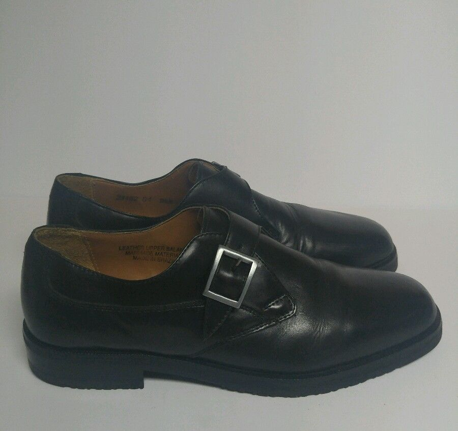 Stacy Adams Size 9.5 9 1/2 Black Shoes