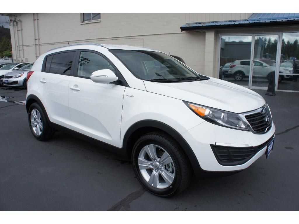 2013 kia sportage lx awd lx 4dr suv suv 4 doors white for sale in bend or source http www. Black Bedroom Furniture Sets. Home Design Ideas