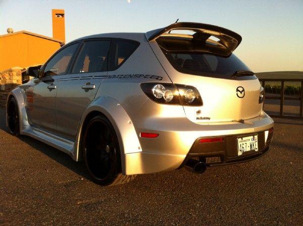 Mazda Speed 3 >> Custom Mazdaspeed 3 Mazda Cars Hatchback Cars Mazda