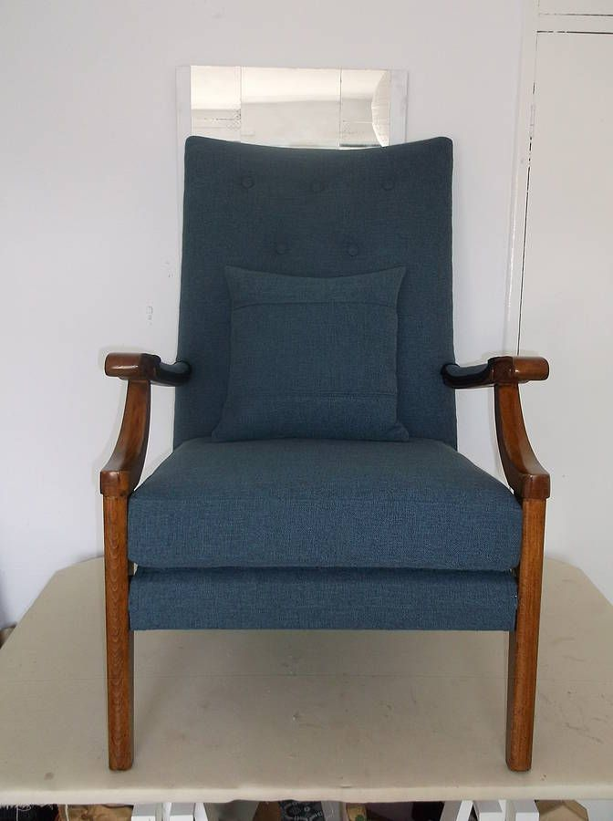 Vintage Cintique Armchair By The London Chair Collective