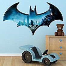 werbung batman wandtattoo die perfekte wanddekoration f r das kinderzimmer kleiner. Black Bedroom Furniture Sets. Home Design Ideas