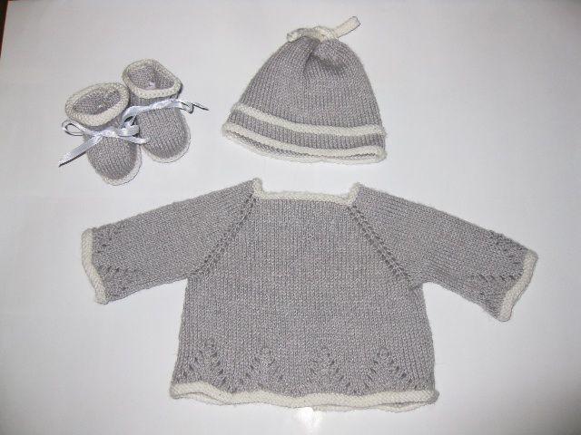 Jersey punto bebé patrones - Imagui | Punto Bebé | Pinterest ...