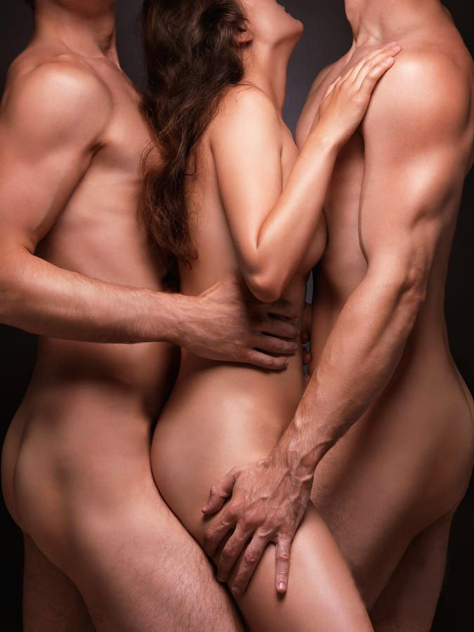 Men and woman a Threesome two