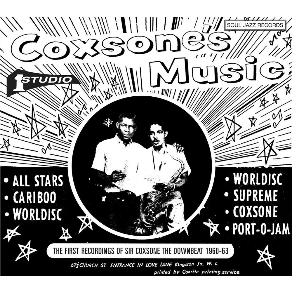 Various Artists - Coxsone's Music: The First Recordings of Sir Coxsone the Downbeat 1960-1963 (Vinyl)