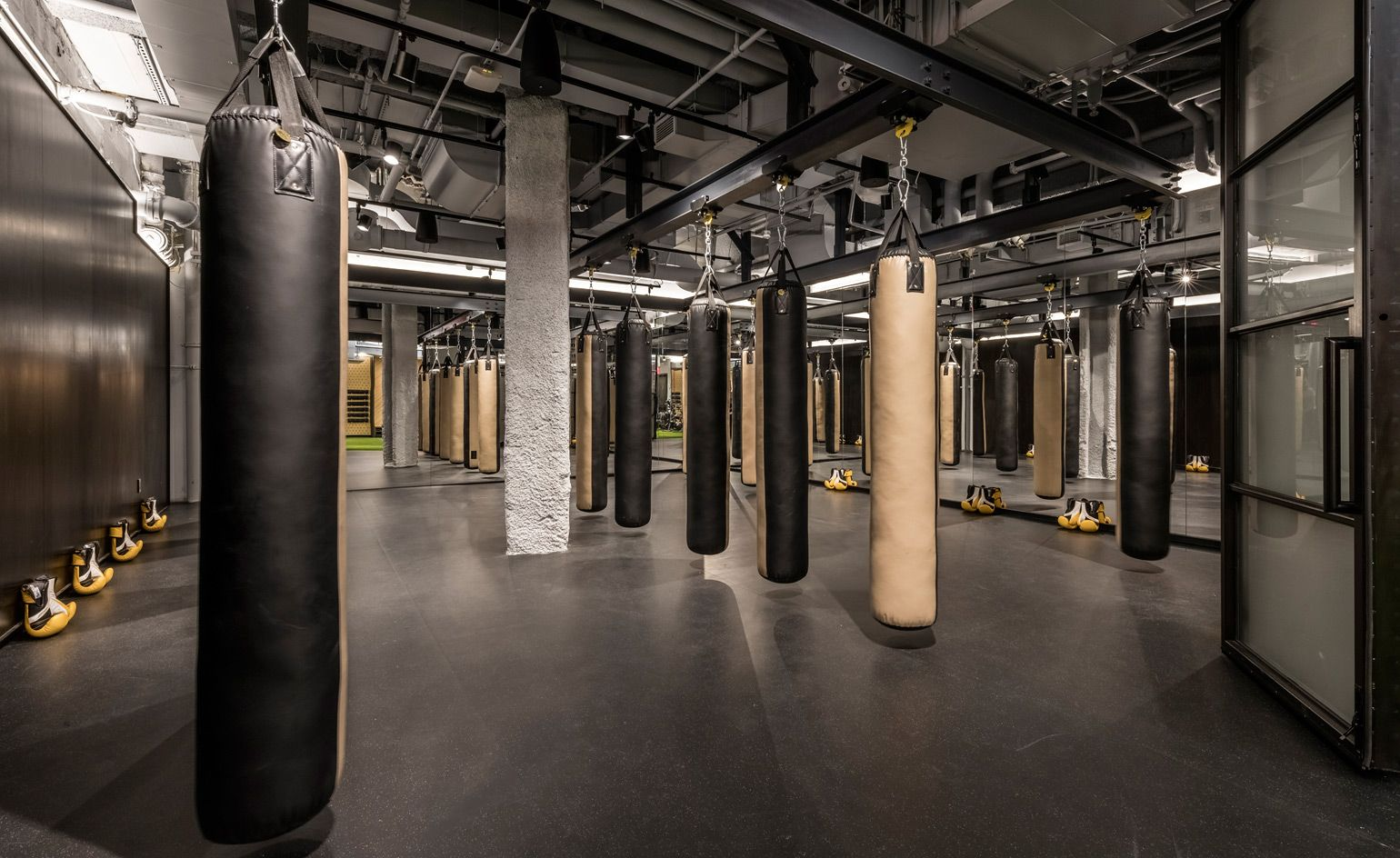 Wework Gets Physical With Its First Gym And Wellness Club Gym Design Interior Boxing Gym Design Gym Interior