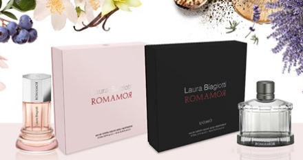 Diventa tester profumo Romamor con Laura Biagiotti