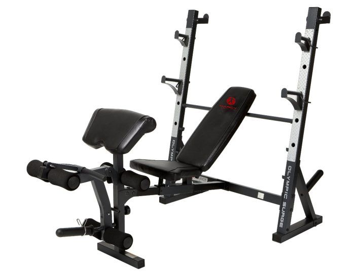 Marcy Diamond Md 857 Olympic Surge Bench Review Usa Home Gym Bench Workout Weight Benches Olympic Weights
