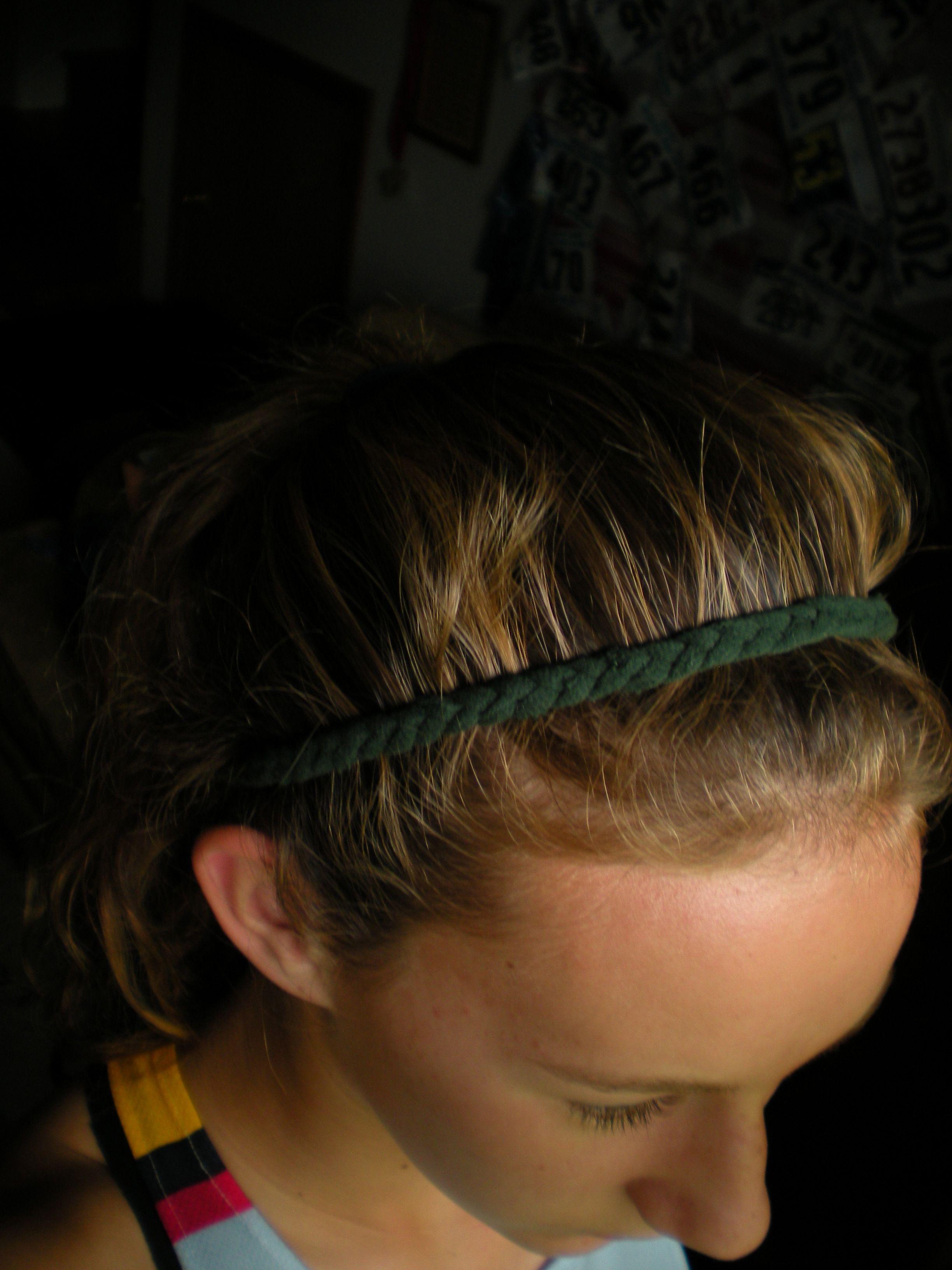 Diy headband out of old tshirt diy headband how to