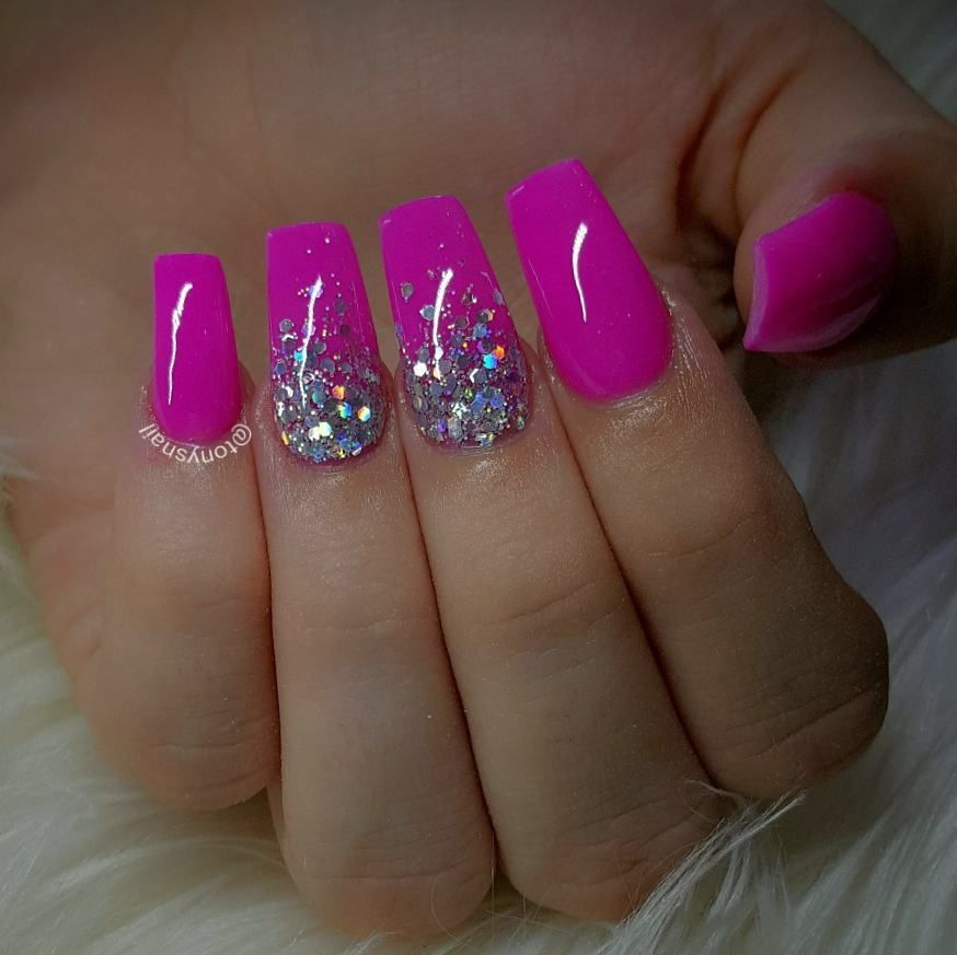 Custom nails design #allpowder design by @tonysnail   uñas ...