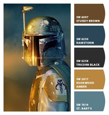 I Just Spotted The Perfect Colors Star Wars Room Star Wars Colour Star