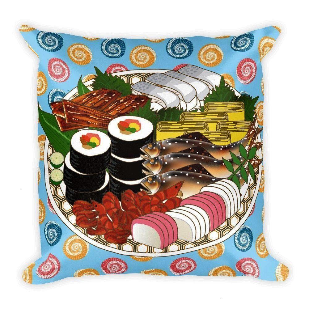 Sushi Tray Food Pillow Nigiri Sushi Lover Sushi Lover Gift Kawaii Pillow Japanese Pillow Sushi Plat