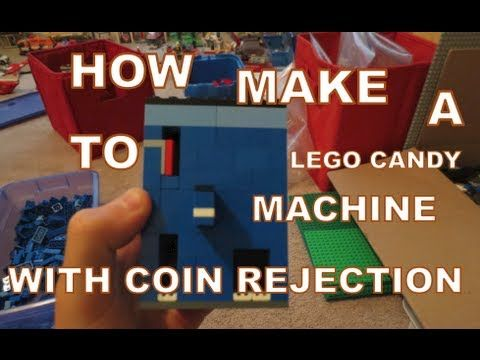 How To Make A Lego Candy Machine With Coin Rejection Youtube