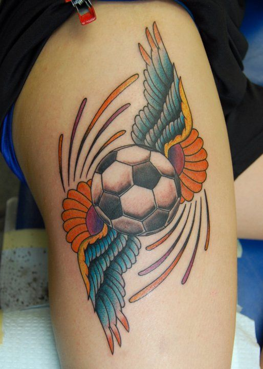 soccer tattoo designs soccer tattoo picture cool
