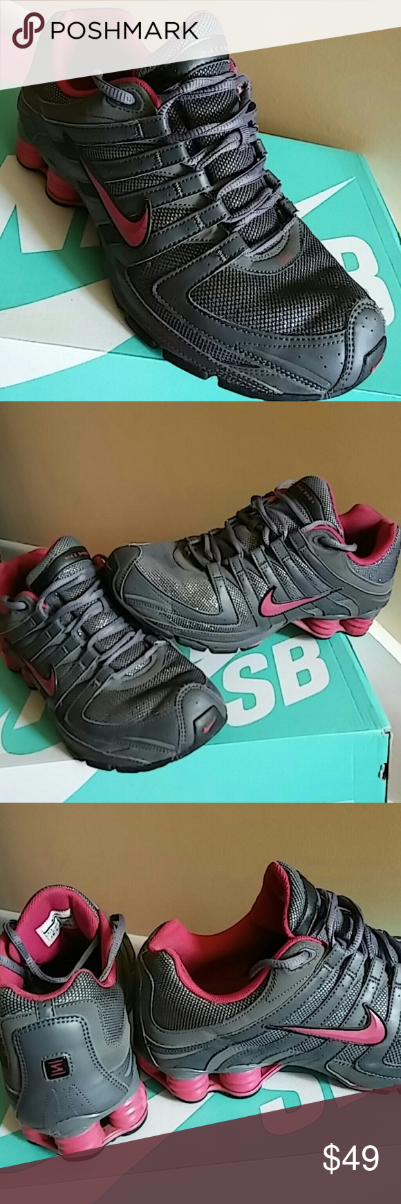 aa9cde0b0dcf Nike Shox WOMEN SIZE 9.5 and MEN 7.5 Lightly and gently used and in great  shape