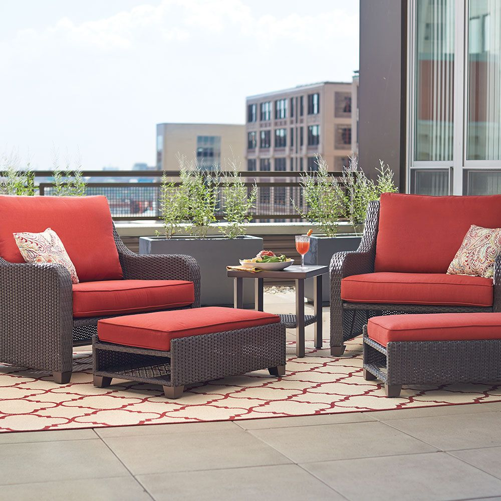 Superb Shop Our Patio Furniture Department To Customize Your Sauntera Collection  Today At The Home Depot.