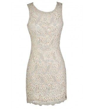 Beige Lace Dress, Beige Crochet Lace Dress, Cute Beige Dress, Beige Lace Pencil Dress, Beige Lace Sheath Dress, Ivory Lace Pencil Dress, Ivory Lace Sheath Dress