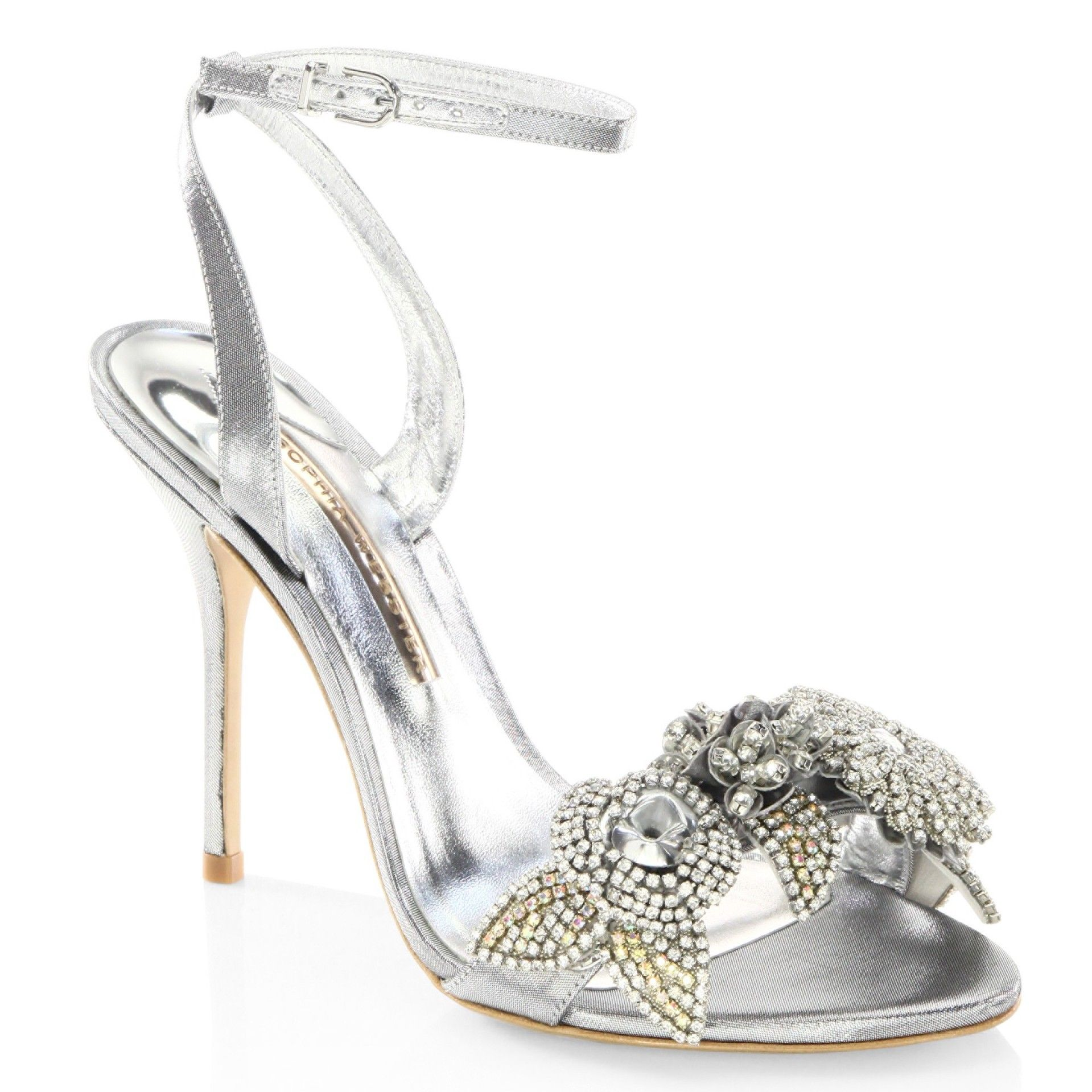 SOPHIA WEBSTER Rhinestone embellished sandals