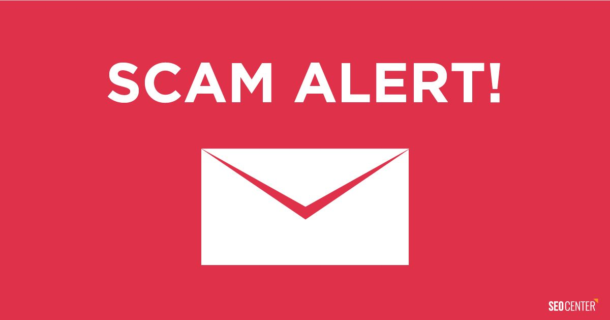 A new Email scam is targeting web designers! Be on the