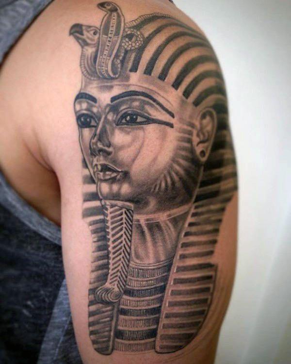 60 King Tut Tattoo Designs For Men - Egyptian Ink Ideas ...