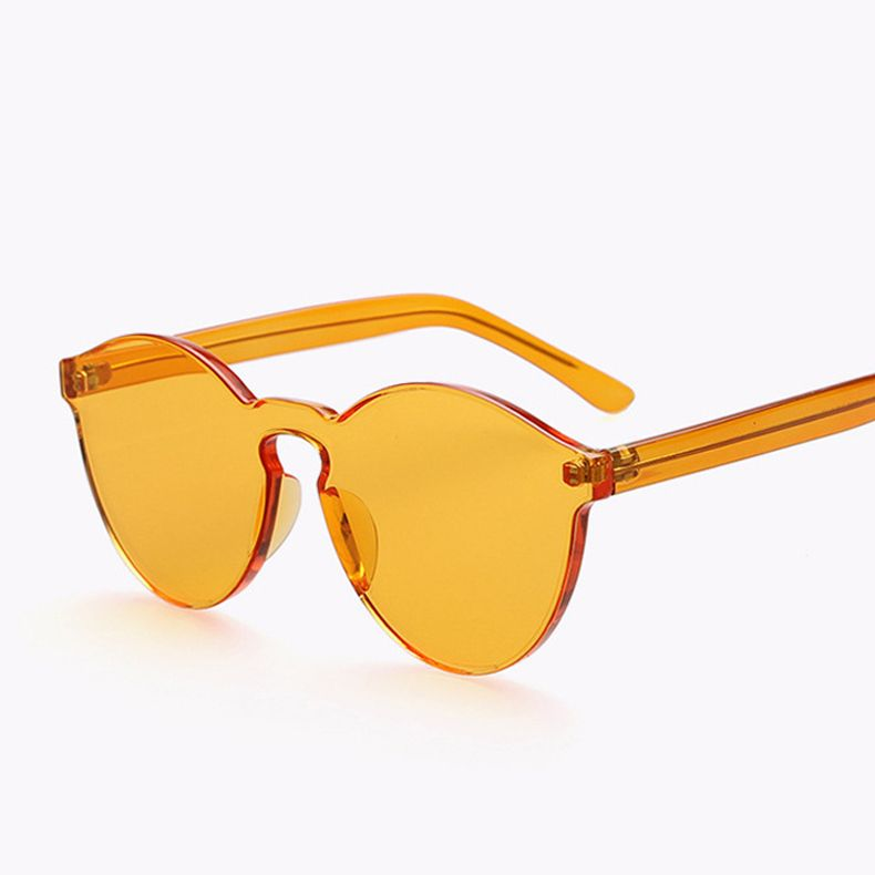 1f33f09acb714 Jelly color Fashion Brand Sunglasses House of Holland X Linda Farrow Vintage  Eyewear Women Vogue Glasses Oculos de sol masculino-in Sunglasses from  Women s ...
