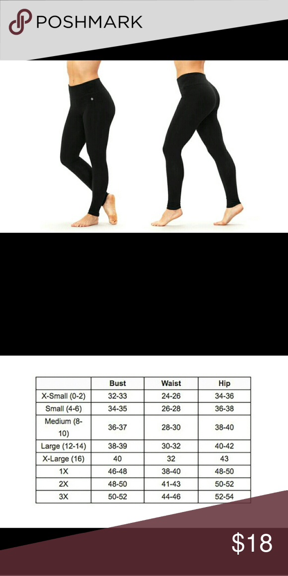 0b9a6c1081471 Bally total fitness tummy control legging Brand new with tags in original  packaging Pants Leggings