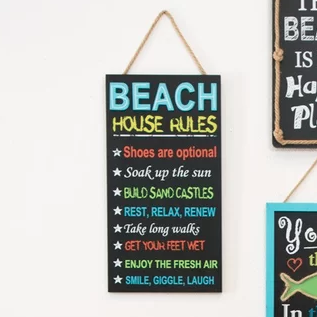 Wooden Beach Signs Decor Captivating Best Wooden Beach Signs  Beachfront Decor  Beach Wall Decor Inspiration