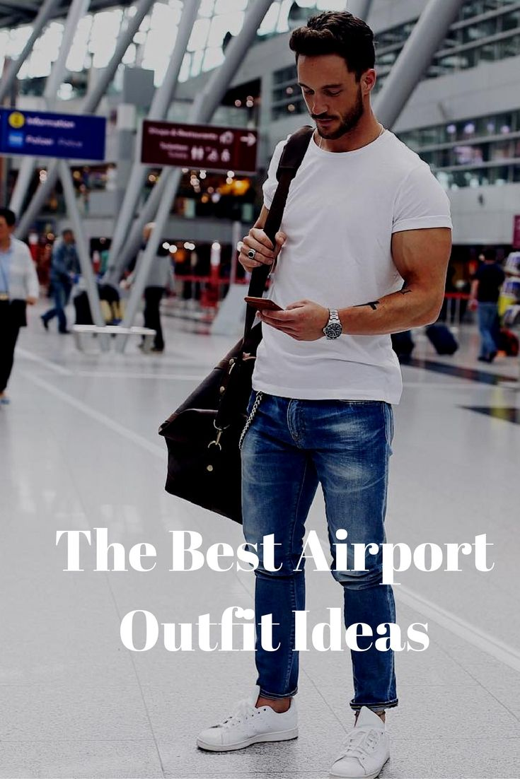 7 Coolest Airport Looks For Guys
