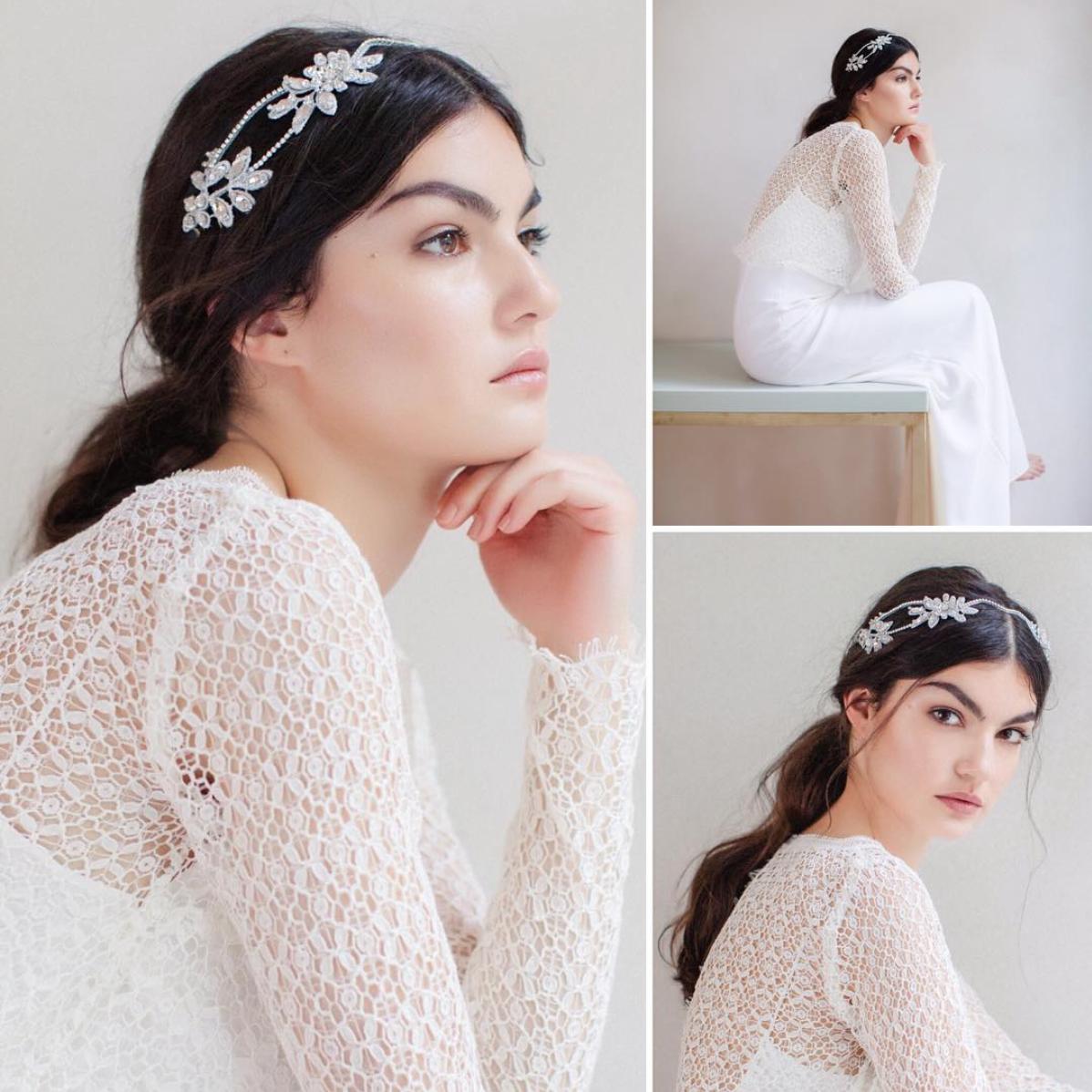 Bridal ponytail c/o @janniebaltzer | Wedding Hair / Accessories ...