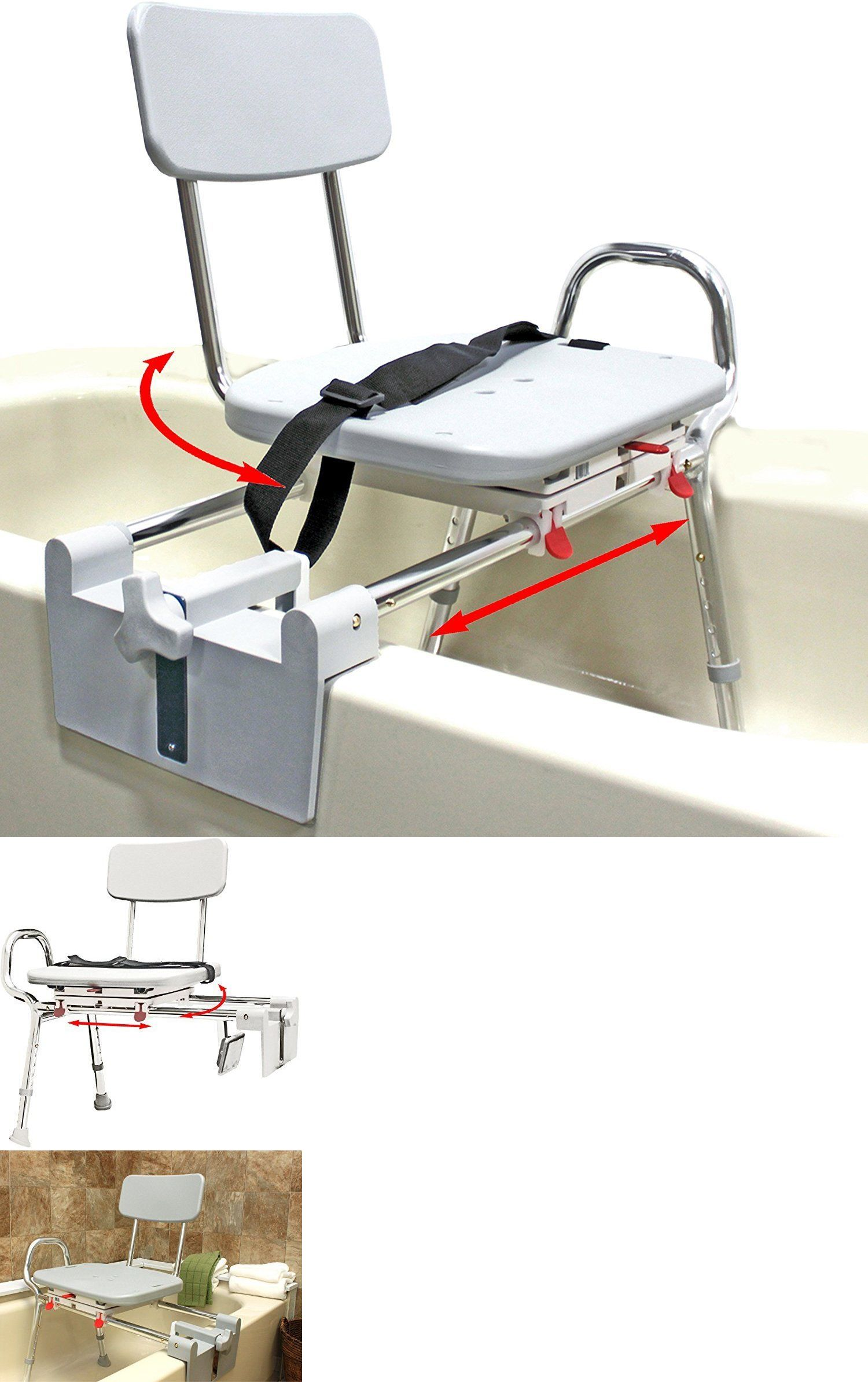 Transfer Boards and Benches: Tub-Mount Swivel Sliding Bath Transfer ...