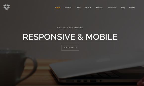 Video Background Bootstrap Template | Video background, Template and ...