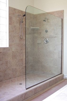 Delicieux Shower Glass Splash Panel, Atlanta, Ga