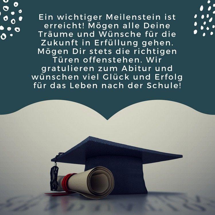 50 Abi Sprüche, Zitate und Glückwünsche zum bestandenen Abitur