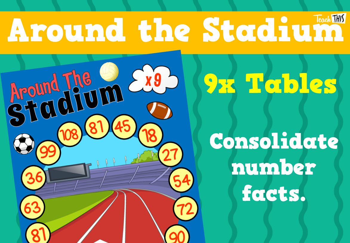 Around The Stadium 9x Tables With Images
