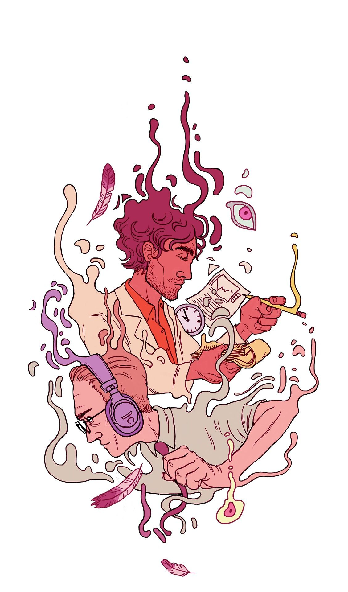 jenndrawsthings: I love the fact that Welcome to Night Vale is a thing that exists. It's just the right combination of ridiculous, horror, ...