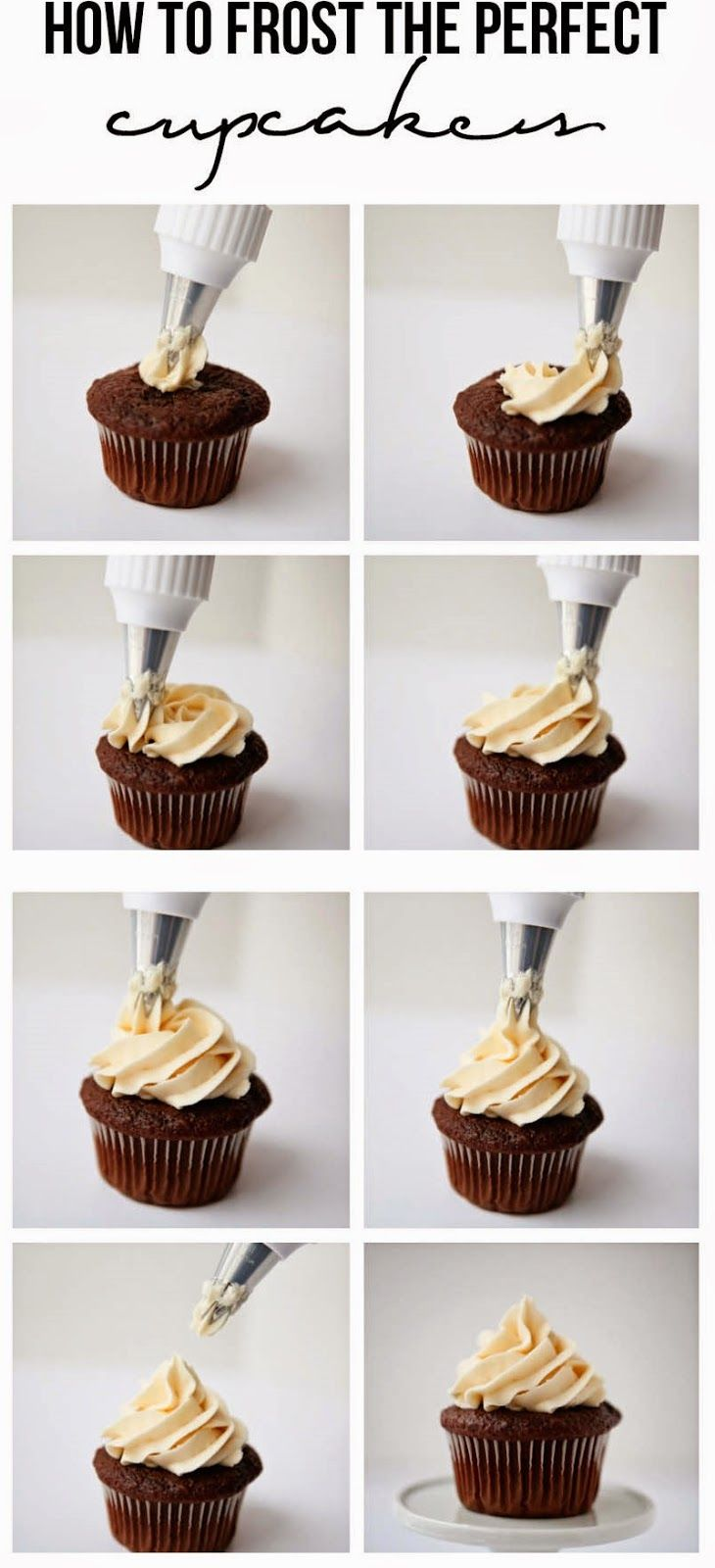 The Best Healthy Recipes: How To Frost The Perfect Cupcakes I Learned This  Trick