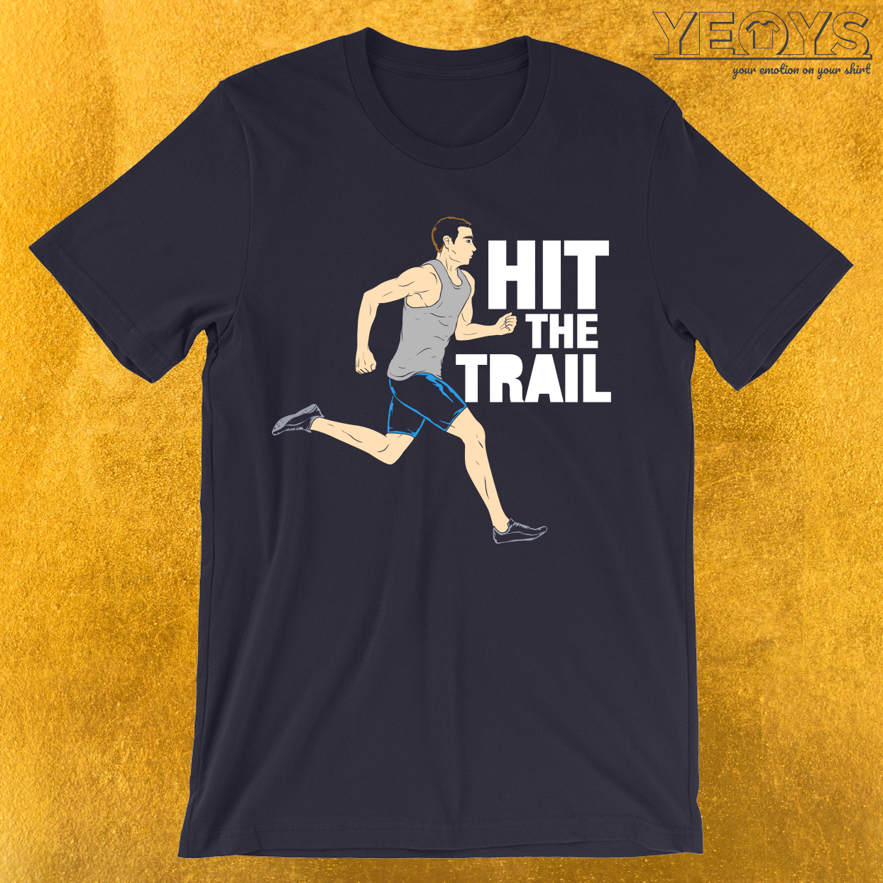 Hit The Trail Running Vintage T Shirt Vintage Gym Novelty This Jogging Sprinting Men Women T Shirt W Running Shirts Vintage Tshirts Vintage Tee Shirts