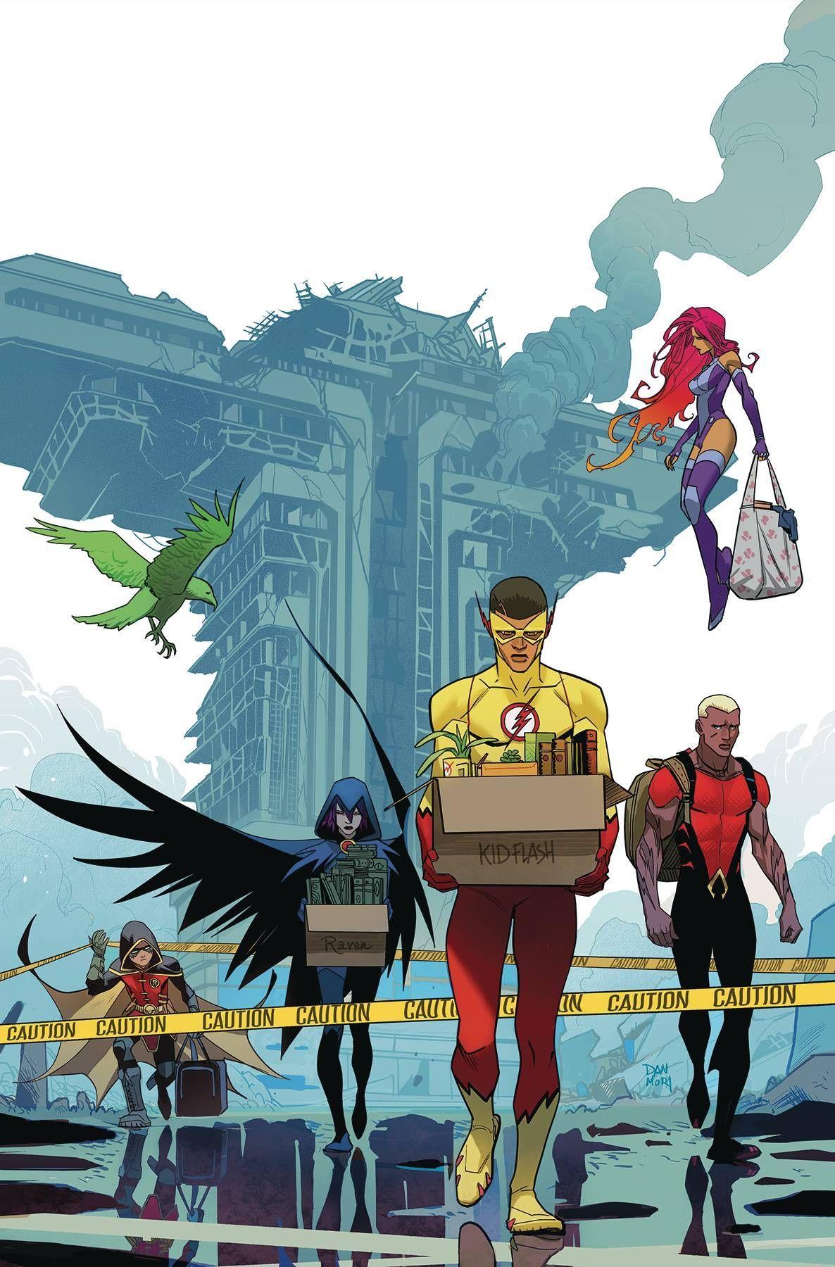 Teen Titans 17 2282018  Comics  Teen Titans, Comics, Dc Comics-5805
