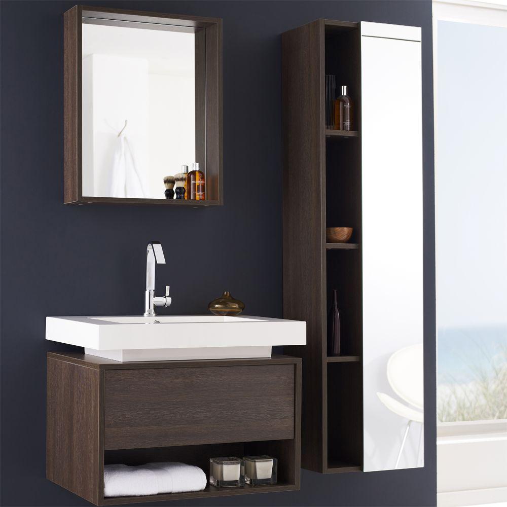 Hudson Reed Mobel Garnitur Recess Diese Mobel Garnitur Beinhaltet Einen Waschtisch Inklusive Waschbecken Einen Hangeschrank Sowie Ei Badkamer Huis Wastafel