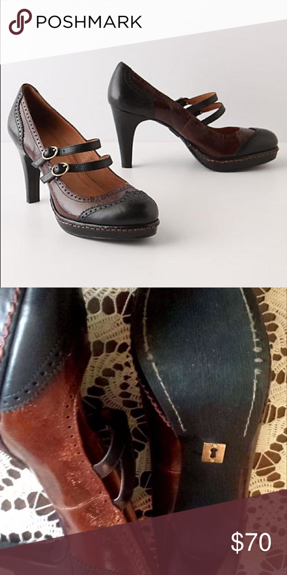 f47f8bd97f0 Schuler  amp  Sons Anthropologie Wingtip Mary Janes Gently used and in  excellent condition. Unbelievably
