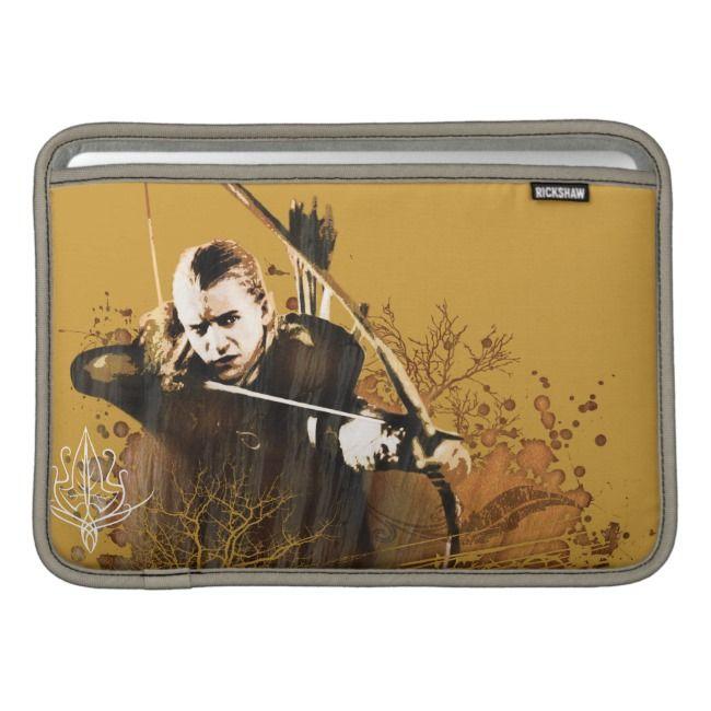 LEGOLAS GREENLEAF™ Shooting Arrow Vector Collage MacBook ...