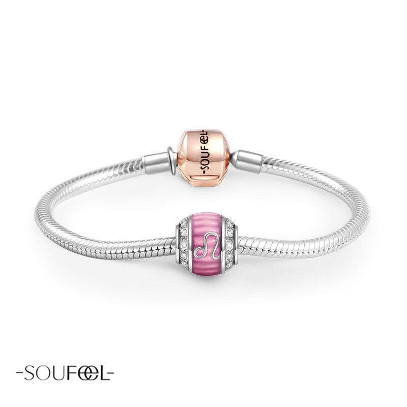 Soufeel Air Sign Gemini Swarovski Crystal Charm 925 Sterling Silver dtiOP