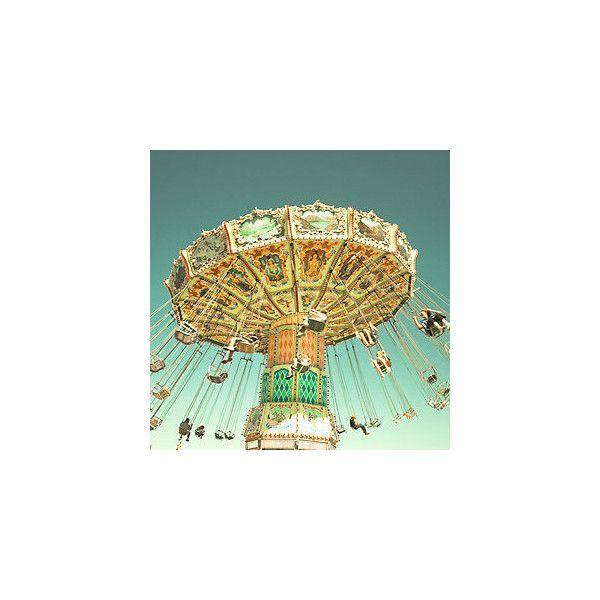 Swingin II Carnival Fair Art 8x8 ZNE Photgraph Photography POE ❤ liked on Polyvore