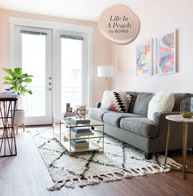 Best 10 Best Paint Colours Paint Living Room Grey Blush 400 x 300