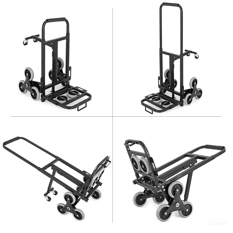Amazon com: BestEquip Stair Climber Cart 330LB Heavy Duty