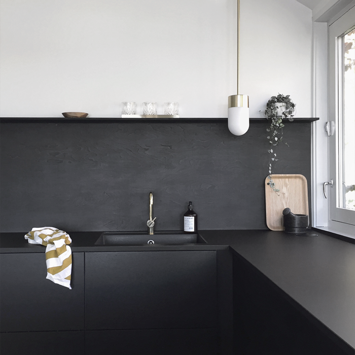Brass details in the kitchen | Stylizimo Blog