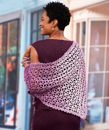 Lacy Isosceles Crochet Shawl Thanks So Xox Httpsukpinterest